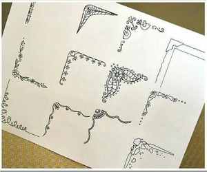 drawing, art, and doodle image