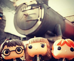 express, hermione granger, and ron weasley image
