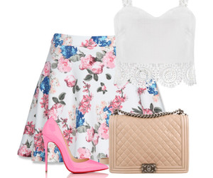 outfit and pink image