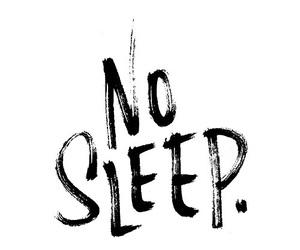 sleep and no image