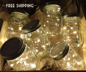 etsy, fairy lights, and outdoor lights image