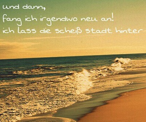 away, beach, and stadt image