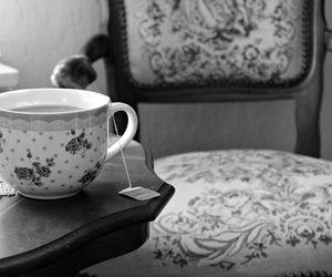 cup, photo, and tea image