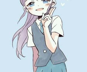 anime girl and inazuma eleven image