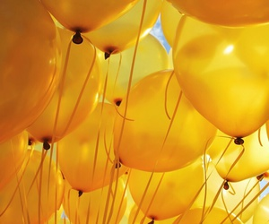 yellow and ballons image
