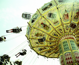 carnival, old fashioned, and Flying image