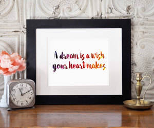 etsy, wall decor, and quote art image