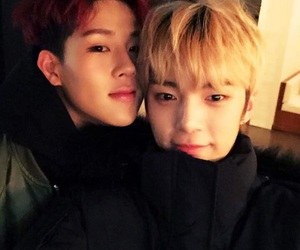 jooheon, minhyuk, and monsta x image