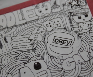 doodle, drawing, and drawings image