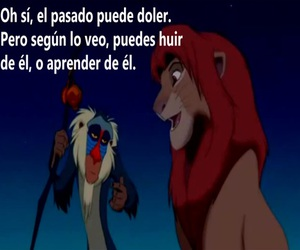 disney, frases, and el rey leon image