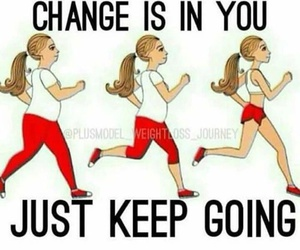 fitness, motivation, and run image