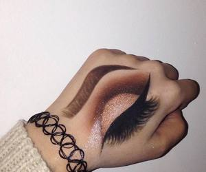 goals, make up, and paint image