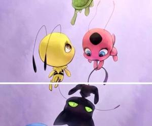 miraculous, tikki, and miraculous ladybug image