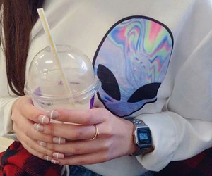alien, tumblr, and grunge image