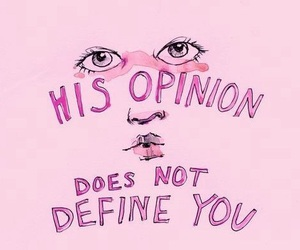 quote, pink, and grunge image