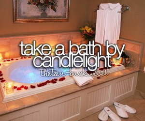 bath, beforeidie, and romantic image