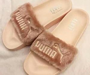 puma, cute, and sandal image