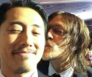 the walking dead, glenn, and daryl image