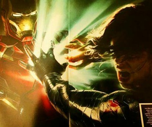 winter soldier and iron man image