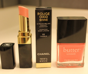 chanel, lipstick, and butter image