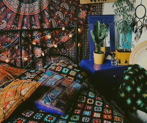 70s, tapestry, and love image