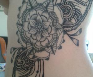 mandala, tatto, and tatuaje image