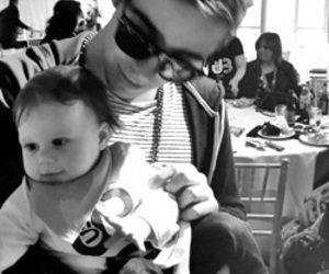 the wanted, nathan sykes, and baby image