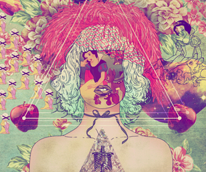 snow white, hipster, and art image
