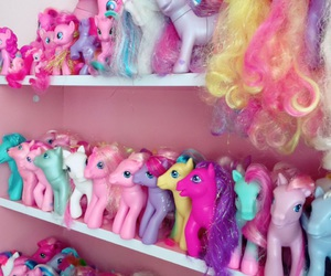 colorful, my little pony, and toys image