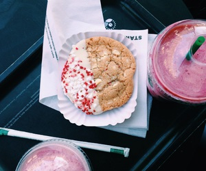 cookie, milkshake, and noir image