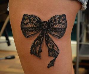 tattoo and bow image