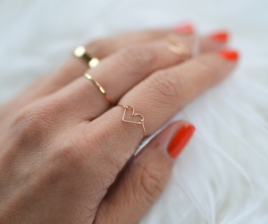 heart, jewelry, and mom image