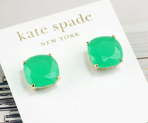 earrings and green image