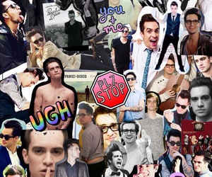 brendon urie, Collage, and panic! at the disco image