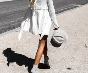 fashion, style, and white image