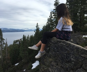 forests, goals, and hiking image