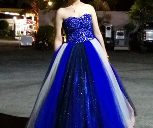 blue and gown image