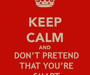 keep calm, red, and text image