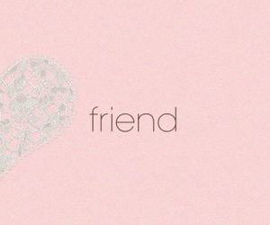 friends, heart, and wallpaper image