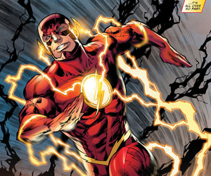 dc comics, the flash, and barry allen image