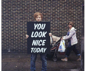 ed sheeran, nice, and ed image
