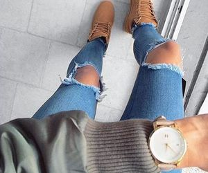 blue, clothes, and jeans image