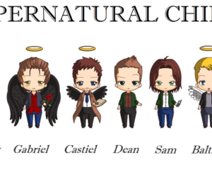 angels, brothers, and crowley image