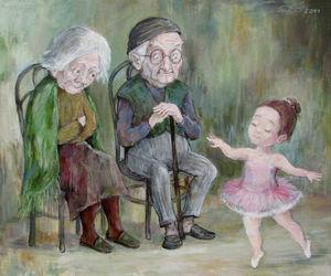 angels, art, and childhood image