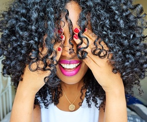 curls, healthy, and gorgeous image