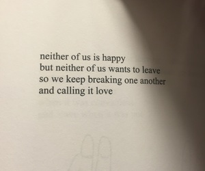 happy, neither, and calling it love image