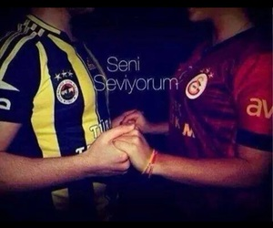 couple, fenerbahce, and ❤ image