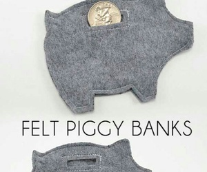 craft, do it yourself, and piggy bank image