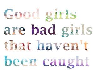 girls, letters, and quote image