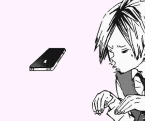 manga, tsukishima, and haikyuu image